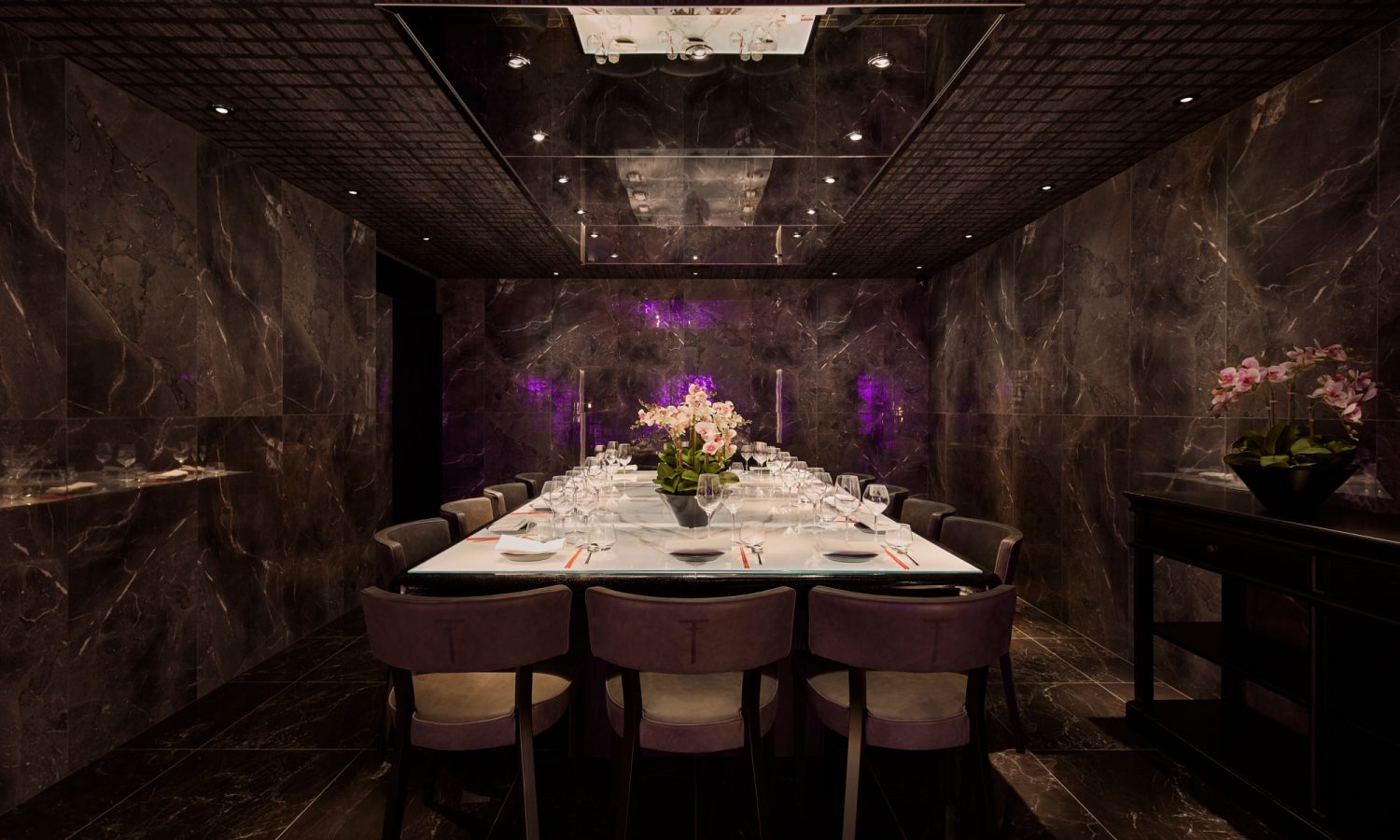 Tattu restaurant and bar leeds tattu for Best restaurants with private dining rooms toronto