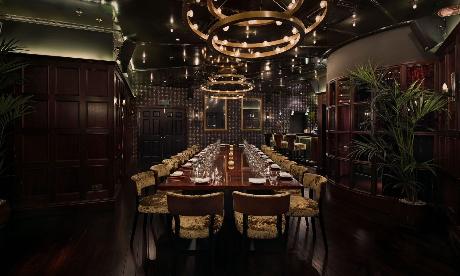 The Parlour Is Tattus Private Dining Room And Exclusive Event Space Serviced By Its Own Entrance Bar